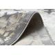 Tapete LUCE 74 moderno Pavimentação tijolo vintage - Structural cinzento / mostarda