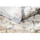 Modern LUCE 74 Teppich Pflasterung Backstein vintage - Strukturell grau / Senf