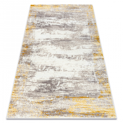 Carpet CORE W9775 Frame, Shaded - structural two levels of fleece, ivory / beige