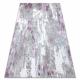 Covor SAMPLE Reyhan AA933A 67 Ornament Vintage - structural, două niveluri de lână, cremă / roz