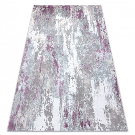 Carpet SAMPLE Reyhan AA933A 67 Ornament Vintage - structural, two levels of fleece, cream / pink