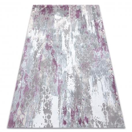 Teppich SAMPLE Reyhan AA933A 67 Ornament Vintage - Strukturell, zwei Ebenen aus Vlies, creme / rosa