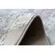 ковер SAMPLE Reyhan AA933A 67 Орнамент Винтаж - структурный, два уровня флиса, крем / розовый