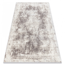 Carpet CORE W9784 Vintage rosette - structural two levels of fleece, beige