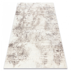 Carpet CORE W9786 Abstraction - structural, two levels of fleece, beige