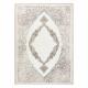 Koberec CORE 8111 Ornament Vintage - Strukturální, dvě úrovně rouna, béžový