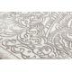 Tapete moderno CORE 8111 Ornamento Vintage - estrutural, dois níveis, bege