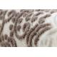 Carpet CORE 8111 Ornament Vintage - structural, two levels of fleece, beige