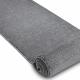 Alfombra de pasillo SOFT 2485 llanura color sólido gris