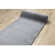 Behúň SOFT 2485 Jednotný, jednofarebný, šedá