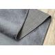 Tapijt SOFT 2485 T70 55 uniform , enkele kleur donker grijs