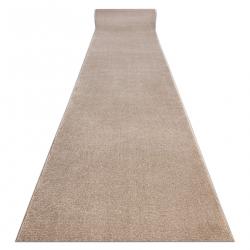 Futó szőnyeg 2485 egyszerű egyszínű bézs