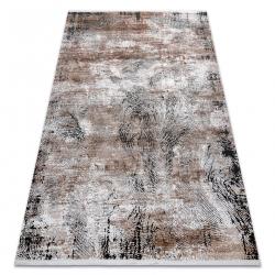 Moderný koberec LUNA VISCOSE CC709A 48 abstrakcia vintage - Štrukturálny krém / béžová