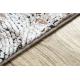 Moderní koberec LUNA VISCOSE CC709A 48 abstrakce vintage - Strukturální krém / béžový