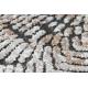 модерен LUNA VISCOSE CC709A 48 килим абстракция vintage - structural сметана / бежов