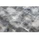 Moderní koberec LISA AA611A 56 geometrický vintage - Strukturální béžový / šedá