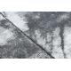 Modern COZY szőnyeg Cadre, Keret, Üveggolyó - Structural két szintű gyapjú szürke
