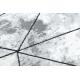Modern COZY szőnyeg Polygons, Geometriai, háromszögek - Structural két szintű gyapjú szürke