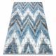 Covor Sample KARDESLER 8344A Zigzag gri / albastru