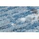 Dywan SAMPLE KARDESLER 8344A Zygzak szary / niebieski