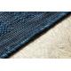 KOBEREC SISAL SAMPLE T59 SL167 Růžice blue / béžový