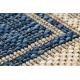 Fonott sizal SAMPLE T59 SL167 Rozetta szőnyeg kék / бежов