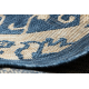 TEPIH NIZ SISAL SAMPLE T59 SL167 rozeta plava / bež