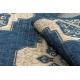 DYWAN SZNURKOWY SIZAL SAMPLE T59 SL167 Rozeta niebieski / beż