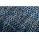 Covor sisal SAMPLE T59 SL167 Rozetă albastru si bézs