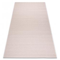 Carpet FLAT 48603/526 Eyelets - cream pink