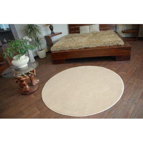 Carpet circle ULTRA beige