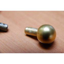 Terminação para varas de escada cor : dourado