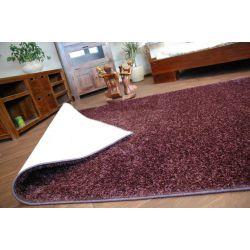 Carpet - wall-to-wall SHAGGY CARNIVAL plum