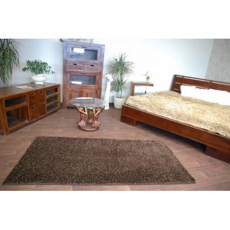 Carpet - wall-to-wall SHAGGY CARNIVAL brown