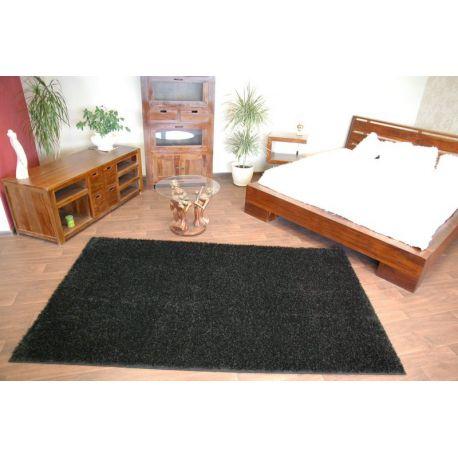 Carpet - wall-to-wall SHAGGY CARNIVAL black