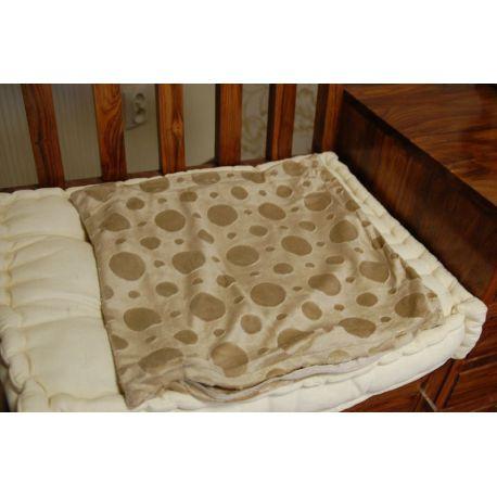 Funda de almohada CIRCLES beige