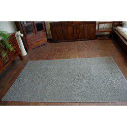 Glitter szőnyegpadló szőnyeg 166 szürke