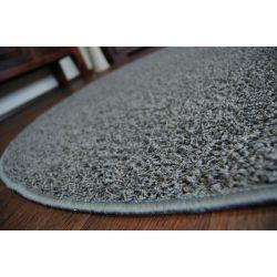 Okrúhly koberec GLITTER 166, popolavá