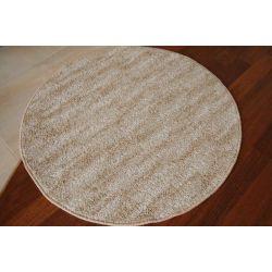 Kulatý koberec NEW WAVES krem