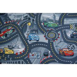 Passadeira carpete DISNEY CARS 97 cinzento