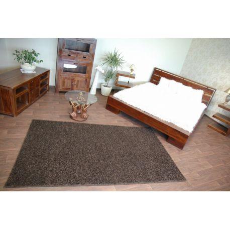 Carpet, wall-to-wall, SHAGGY MISTRAL dark brown