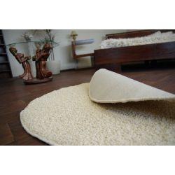Kulatý koberec MELODY krémový
