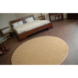Carpet round MELODY beige