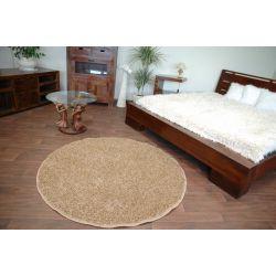 Kulatý koberec MISTRAL, medová