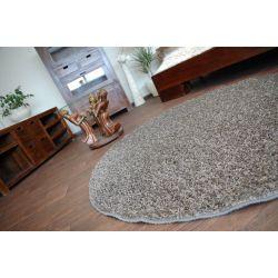 Kulatý koberec MISTRAL ocelová
