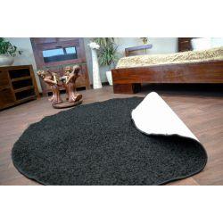 Carpet round SPHINX black