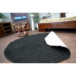 Kulatý koberec SPHINX černý