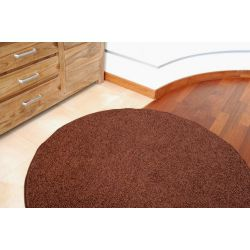 Kulatý koberec SPHINX hnědý