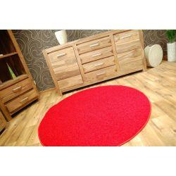 Kulatý koberec SPHINX červený