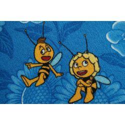 Carpet Wall-to-wall MAYA THE BEE blue